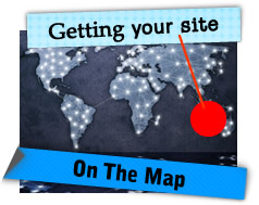 Getting your web site on the map
